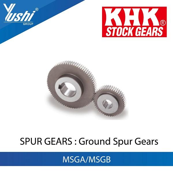 Ground Spur Gears