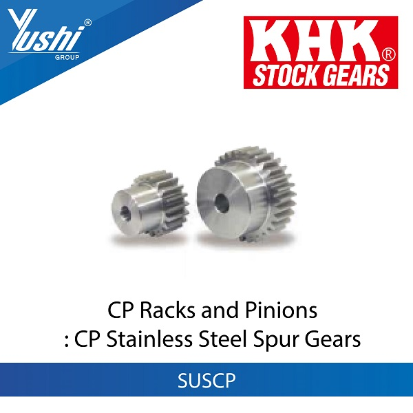 CP Stainless Steel Spur Gears