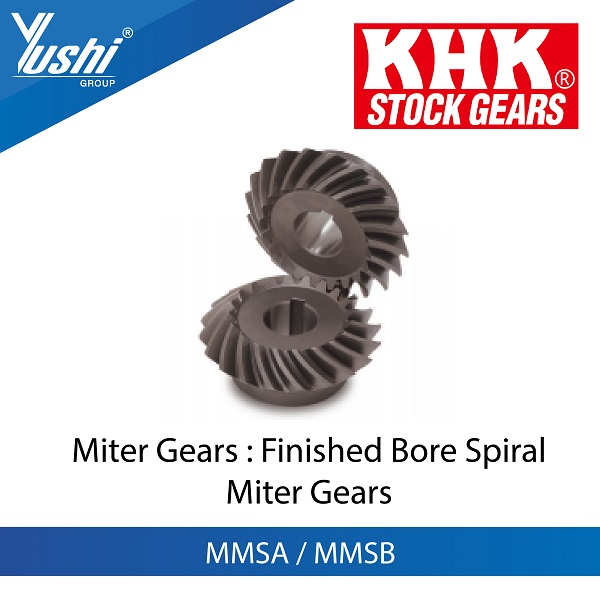 Finished Bore Spiral Miter Gears